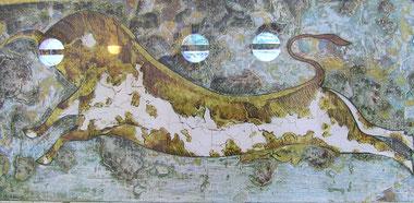taureau expo Kalithéa Grèce