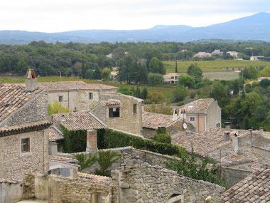 Bild: Blick in die Ferne in Grignan