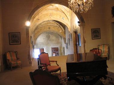 Bild: im Innern von Château de Grignan