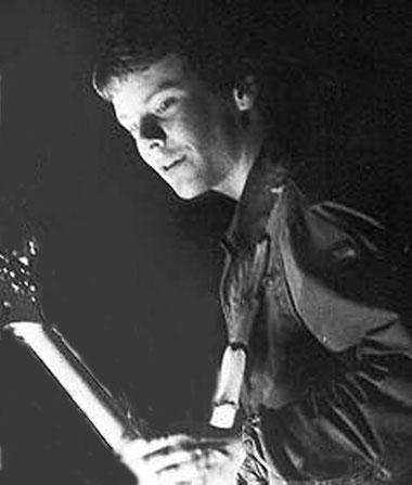 Jörg Bombach, 1979 der Mann am Bass