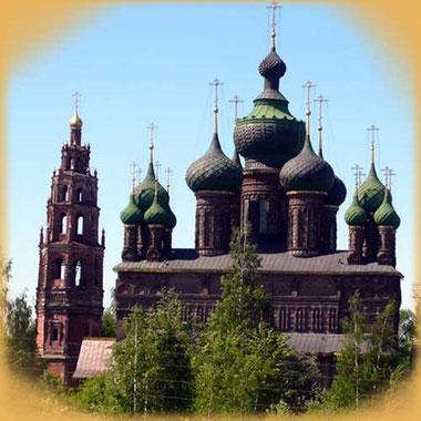 Церковь Иоанна Предтечи в Толчкове, фото с сайта http://www.archi.ru