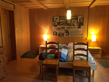 Gästezimmer für Zwei- und Vierbeiner