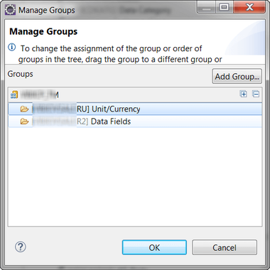 Manage groups of your CompositeProvider