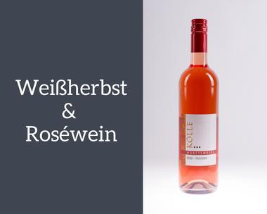 Weißherbst & Rosewein Weinkellerei Kölle