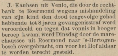 Venloosche courant 14-07-1900