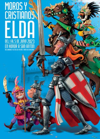 Moros y Cristianos en Elda Cartel y Programa