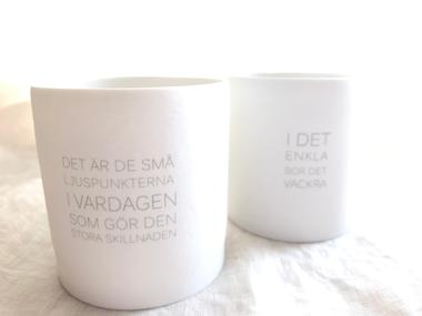 スウェーデン製キャンドルホルダー