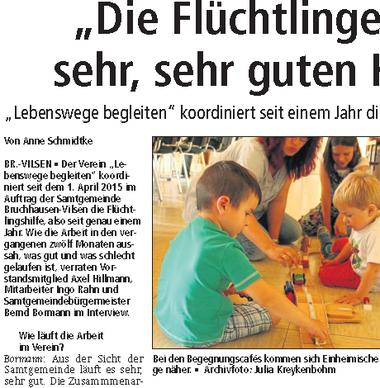 Autorin: Ane Schmidtke von der Kreiszeitung