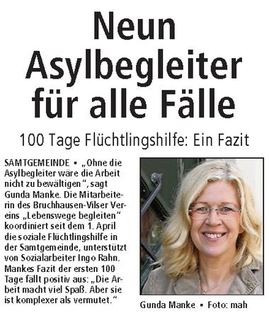 Autorin: Mareike Hahn von der Kreiszeitung