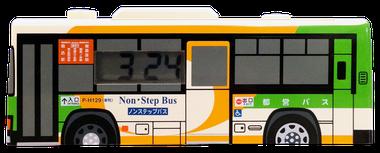 動クロック バス型 側面