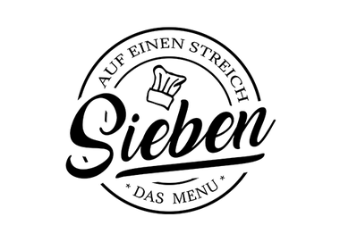 Logo Sieben auf einen Streich - das Sommermenu