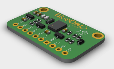3D Model from BlueDot BNO055 Board V1