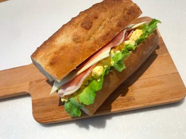 バゲットサンド - パンと和菓子の教室 MANA Belle World ( マナベルワールド )
