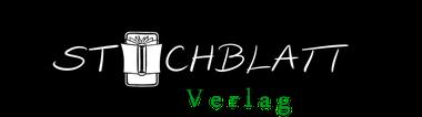 Stichblatt Verlag, Verlagsprogramm