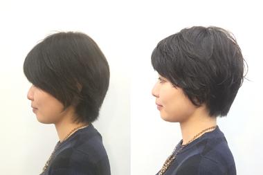 パーマスタイルで扱いやすい髪型に(^^♪