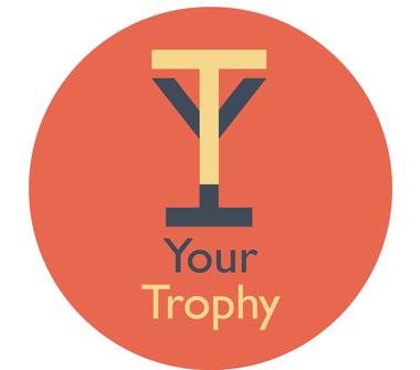 Logo Your Trophy, service de création de trophée personnalisables grâce à l'imprimerie orbitale via l'impression 3D