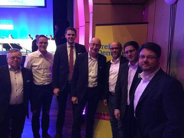 Eckhard Fuhrmann, Thorsten Baumgart, Patrick Büker, Hermann Ludewig, Christian Martin, Dirk Bursian, Simon Liekam