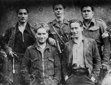 Medlemmer af MOI i den franske Résistance