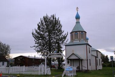 l'église russe de Kenai