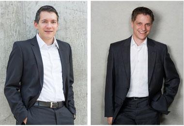 Marc Gasper (links) und Thorsten Stürmer (rechts) sind die beiden neuen Geschäftsführer der ZENTEC.