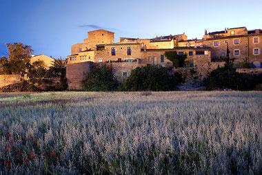 les villages médiévaux en costabrava