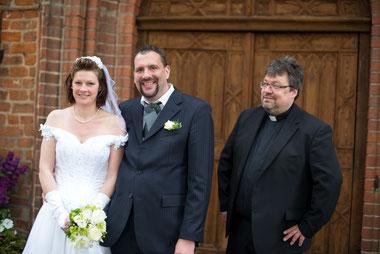 kirchliche Trauung von Dirk und Anja Matusall (mit Christoph Scharf)