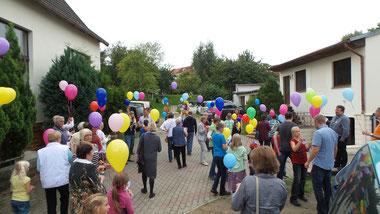 Gemeindefest mit Luftballonstart
