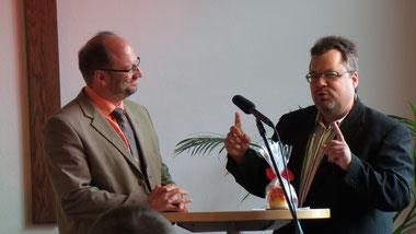 Klaus Göttler und Christoph Scharf