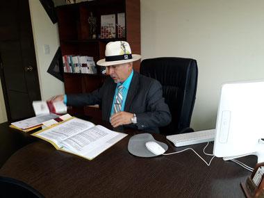 Busco abogados para repatriar a un sentenciado en el Ecuador