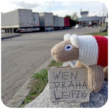 ... mitten in Tschechien ...