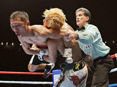 ボクシングの反則行為