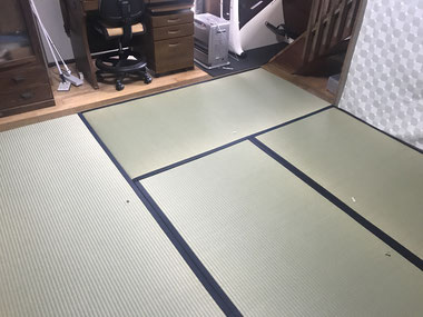 (1)  2020/3/27表替え当日の部屋