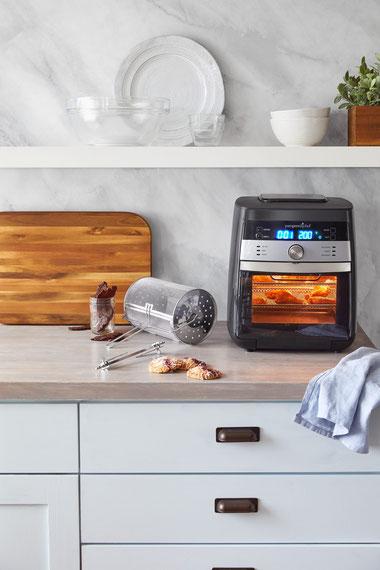 Pampered Chef® Deluxe Air Fryer kaufen, Rezepte Air Fryer