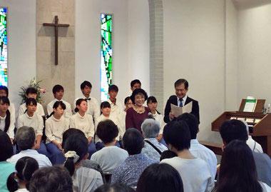 ホサナ聖歌隊と青年聖歌隊