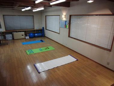 クラブハウス屋内トレーニングルーム