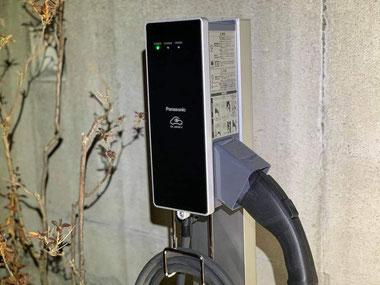 充電設備 充電スタンド パナソニック EV PHV PHEV V2H 富士市 業者