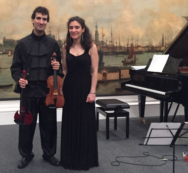 Daniele and Sara de Ascaniis delighted the audience  -  credit: nh