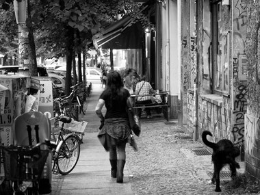 Woman and Dog Kurtz Detektei Frankfurt, Copyright Sascha Kohlmann