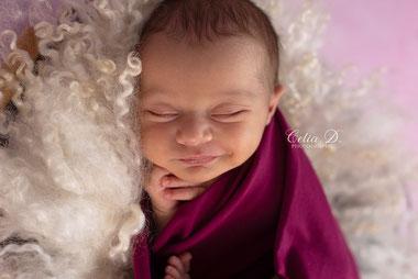 Celia D. Photographie photographe naissance bébé nouveau-né dijon beaune nuits saint georges