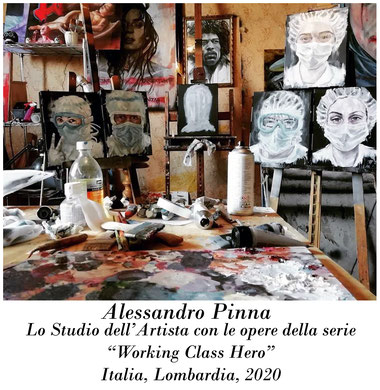 Alessandro Pinna_Gli artisti al tempo della pandemia: Covid-19 (parte terza)