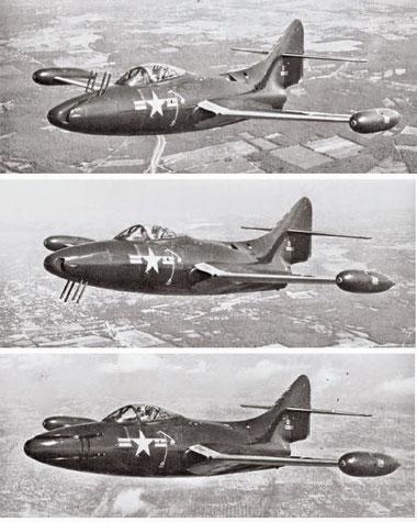 F-9F-3 Panther con la torretta Emerson.