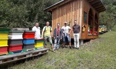 Bienenstand der Imkerei Peball Gottfried in Malta