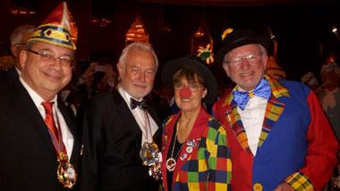 v.l.n.r.: Werner Hümmerich, Wolfgang Kubicki, Monika Wolf-Umhauer, Karl-Heinz Lamberty