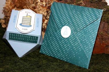 Diamond-Box mit passender Karte