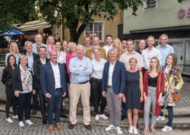 Foto: Gruppenfoto mit den Teilnehmern (Foto. Susanne Weigl)