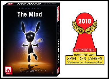 Rezension zum Kartenspiel The Mind von Wolfgang Warsch