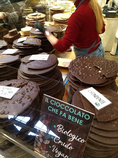 Lovely chocolate choices - Dante Harker