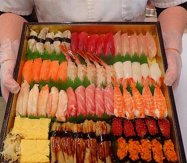 お花見 寿司 出前