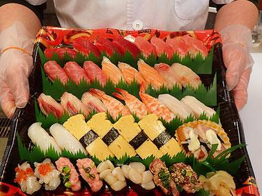 美味しいお寿司の出前 宅配寿司 江東区