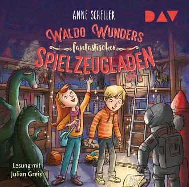 CD-Cover Waldo Wunders fantastischer Spielzeugladen